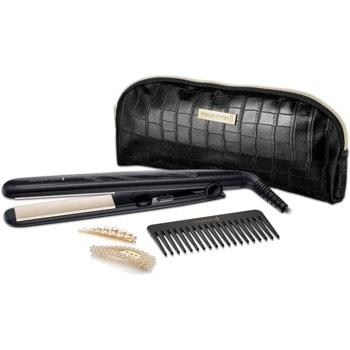 Преса за коса Remington S3505GP, система за заключване на рамената, загряване до 15 секунди, черен image