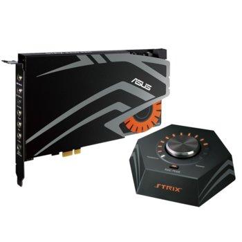 Звукова карта Asus STRIX RAID PRO в комплект с Control Box, Gaming, 7.1 канална, PCIe, 24-Bit, 116dB, 600ohm image