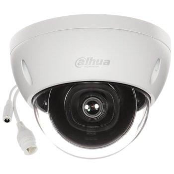 IP камера Dahua IPC-HDBW2531E-S-0360B, куполна камера, 5MPix (2592×1944@20fps), 3.6mm обектив, H.265+/H.265/H.264+/H.264, IR осветеност (до 30 м.), външна IP67/IK10, PoE image