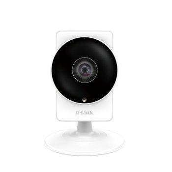 IP камера D-Link DCS-8200LH, за дома, 1MPix (1280x720), 1.72mm обектив, H.264/MJPEG, IR осветеност (до 5m), Wi-Fi, MicroSD слот  image