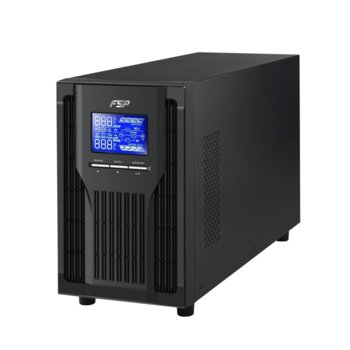 UPS Fortron CH-1102TS, 2000VA/1800W, LCD дисплей, USB, RS232, On-Line, Tower image