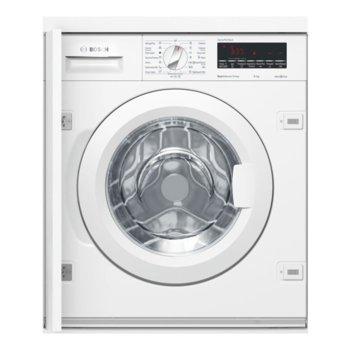 Пералня за вграждане Bosch WIW 28540 EU, клас A+++, капацитет 8 кг., 1400 обр/мин, AntiStain функция, дисплей, бяла  image