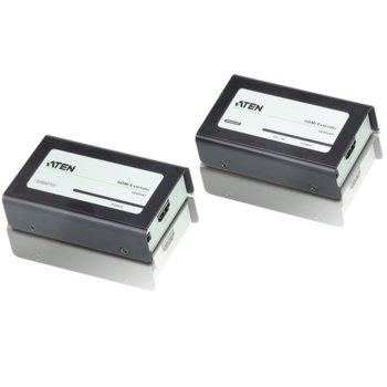 KVM екстендър ATEN VE800A, от HDMI(ж) през мрежови кабел(RJ45ж) към HDMI(ж), 2 устройства image