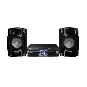Аудио система Panasonic SC-AKX710E-K, 2.0, 2000W RMS, 2-канален цифров двоен усилвател, 3-лентов + съраунд, Еквалайзер, Bluetooth 2,1 + EDR image