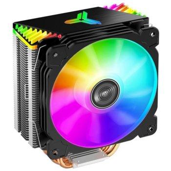 Охлаждане за процесор Jonsbo CR-1000 GT, съвместимост със сокети LGA LGA775/1200/1150/1151/1155/1156 & AMD AM4/AM3+/AM3/AM2+/AM2/FM2+/FM2/FM1 image