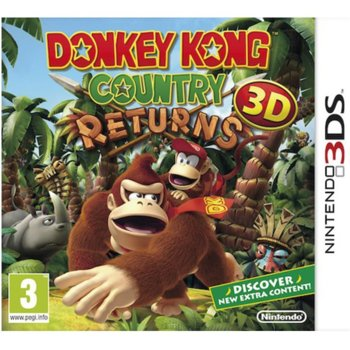 Donkey Kong Country Returns 3D product