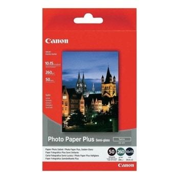 Хартия Canon SG-201, 50 страници, Semi-glossy image