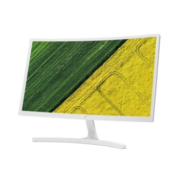 """Монитор Acer ED242QRwi (UM.UE2EE.001), 23.6"""" (59.94 cm)VA панел, Full HD, 4ms, 100 000 000:1, 250cd/m2, HDMI, VGA image"""