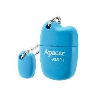 Памет 16GB USB Flash Drive, Apacer AH159, USB 3.1, син image