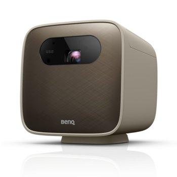 Преносим проектор BenQ GS2, DLP, 1280x720 (HD), 100,000:1, 500 lm, Bluetooth 4.0, Wi-Fi, HDMI, USB, 3.5mm jack, IPX2 устойчивост image