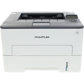 Лазерен принтер Pantum P3305DW, монохромен, 1200 x 600 dpi, 33 стр/мин, LAN, Wi-Fi, USB, А4, зареден с тонер за 3000 страници image