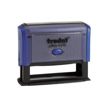 Автоматичен печат Trodat 4918 син, 75/15 mm, правоъгълен image