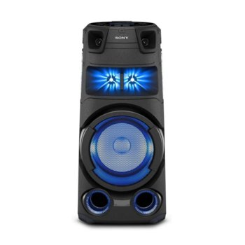 Тонколона Sony MHC-V73D Party, 2.0, Bluetooth, FM/DAB/RDS, CD/DVD, 3.5mm жак, NFC, черна  image