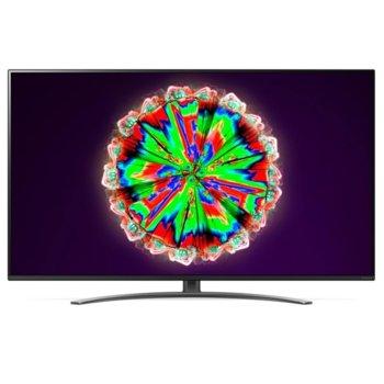 """Телевизор LG 55NANO813NA в комплект с слушалки LG TONE Free HBS-FN4, 55"""" (139.7 cm) 4K/UHD HDR Smart TV, DVB-T2/C/S2, Wi-Fi, LAN, Bluetooth, 4x HDMI, 2x USB image"""