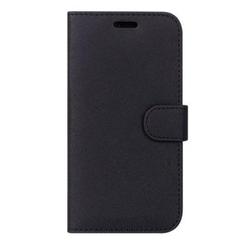 Калъф за Samsung Galaxy S10 Plus, тип портфейл, еко кожа, Case FortyFour No.11 CFFCA0200, черен image