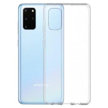 Калъф за Samsung, Galaxy S20 Plus, силиконов гръб, очертаващ оригиналните извивки на устройството, прозрачен image