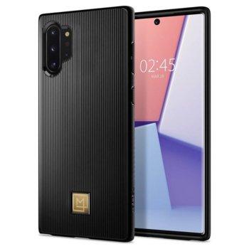 Калъф за Samsung Galaxy Note 10 Plus, термополиуретанов, Spigen La Manon Classy 627CS27367, луксозен, черен image