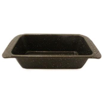 Форма за кекс RIV 2627-9, алуминий, мраморно покритие, 31х15х7.5 см, кафяв image