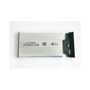 """Кутия 2.5"""" (6.35 cm) SATA, USB3.0, алуминий, 17312 image"""