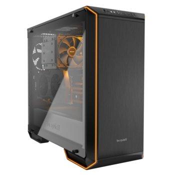 Кутия be quiet! DARK BASE 700 RGB LED BGW23, E/ATX/mATX/miniITX, 1x USB 3.1 Gen2 Type C, 2x USB 3.0, страничен прозорец, програмируема RGB подсветка, черна, без захранване image