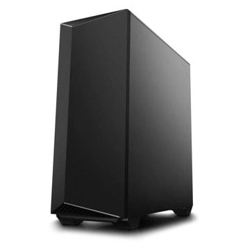 Кутия DeepCool Earlkase RGB V2 (DP-ERLKBK-RGBV2), ATX/Micro ATX/Mini-ITX, 1x USB 3.0, 1x USB 2.0, страничен прозорец, черна, без захранване image