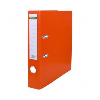 Класьор, за документи с формат до А4, дебелина 5см, оранжев image