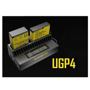 Зарядно Nitecore UGP4 за GoPro4, GoPro3 image