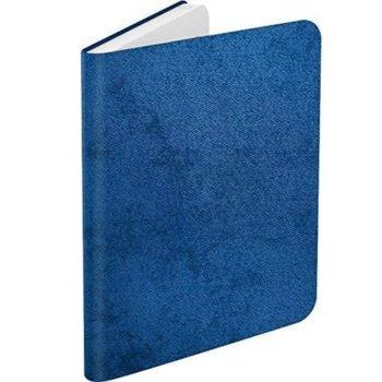 """Калъф за електронна книга BOOKEEN Classic - Denim Blue, за PocketBook Diva/Diva HD, 6"""" (15.24 cm), еко кожа, син image"""