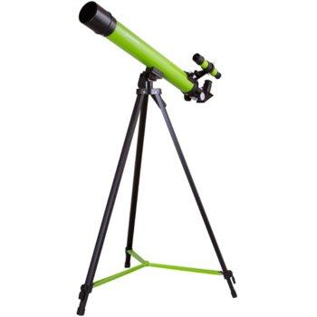 Телескоп Bresser Junior Space Explorer 45/600 AZ, 50–100x оптично увеличение, зелен image