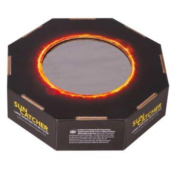 Филтър за телескоп Explore Scientific Sun Catcher, соларен филтър, подходящ е за външен диаметър на тръбата на телескопа от 80 до 102 mm, диаметър на диафрагмата 90 mm image