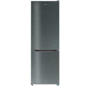 Хладилник с фризер ARIELLI ARD-413RNX, A++, 305л общ обем, свободностоящ, 223 kWh/годишно, инокс image