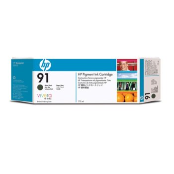 Глава за HP 91 - C9464A - Matte Black - 775ml image
