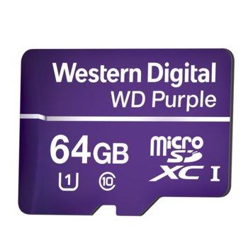 МicroSD Card 64GB WD Purple Class 10 product
