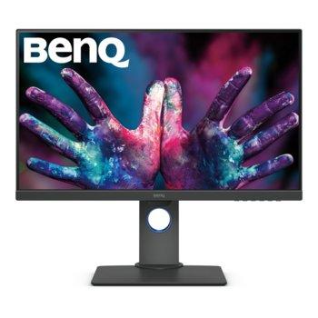 """Монитор BenQ PD2705Q (9H.LJELA.TBE), 27"""" (68.58 cm) IPS панел, 2K QHD, 5ms, 300cd/m2, DisplayPort, HDMI, USB Type C image"""