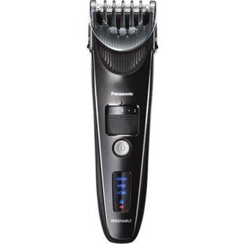 Машинка за подстригване Panasonic ER-SC40-K803, 1 приставка, 19 настройки, миеща се, линеен високоскоростен двигател, 1 час време на работа с едно зареждане, черна image