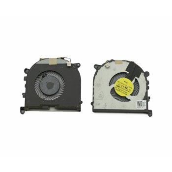 Вентилатор за DELL XPS 15 9550 Precision 15 5510, DC 5V, 0.5A, 4 pin, за процесор image