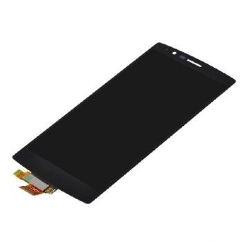 Дисплей за LG G5 H850, LCD оriginal, с тъч и рамка, черен image
