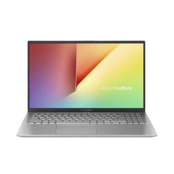 "Лаптоп Asus VivoBook 15 X512DA-WB311 (90NB0LZ2-M12250)(сребрист), двуядрен Zen 2 AMD Ryzen 3 3200U 2.6/3.5 GHz, 15.6"" (39.62 cm) Full HD Anti-Glare Display, (HDMI), 8GB DDR4, 512GB SSD, 1x USB 3.1 Type C, No OS image"