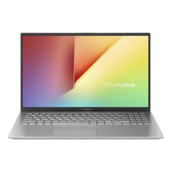 "Лаптоп Asus VivoBook 15 X512DA-BQ1674T (90NB0LZ2-M29210)(сребрист), четириядрен AMD Ryzen 5 3500U 2.1/3.7GHz, 15.6"" (39.62 cm) Full HD IPS Anti-Glare Display, (HDMI), 16GB DDR4, 512GB SSD, 1x USB3.1 Type C, Windows 10 Home, 1.7 кг. image"