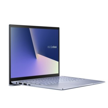 "Лаптоп Asus ZenBook UM431DA-AM038T (90NB0PB3-M02180)(син), четириядрен Zen 2 AMD Ryzen 7 3700U 2.3/4.0 GHz, 14.0"" (35.56 cm) Full HD Anti-Glare Display, (HDMI), 8GB, 512GB SSD, 1x USB 3.1 Type C, Windows 10 image"