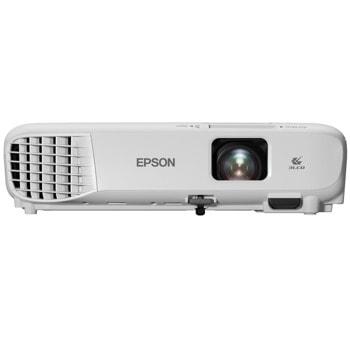 Проектор Epson EB-W06, 3LCD, WXGA (1280 x 800), 16 000 : 1, 3700 lm, HDMI, VGA, USB image