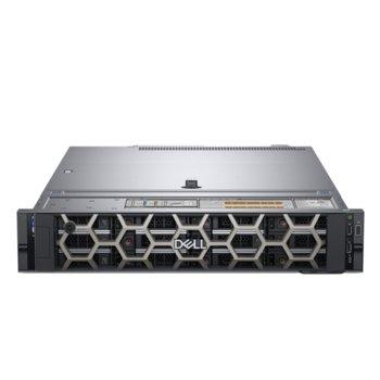Сървър Dell PowerEdge R540 (PER540CEE04), десетядрен Skylake Intel Xeon 4214 2.2/3.0 GHz, 16GB DD4 RDIMM, 480GB SSD, 2x 1GbE, 2x USB 3.0, без ОС, 750W (1+1) image