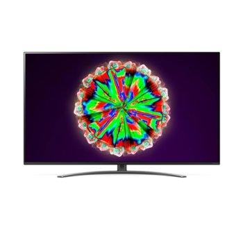 "Телевизор LG 65NANO813NA, 65"" (139.70 cm) 4K/UHD HDR Smart TV, DVB-T2/C/S2, Wi-Fi, LAN, Bluetooth, 4x HDMI, 2x USB, енергиен клас G image"