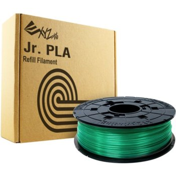 XYZprinting PLA (NFC) filament 600gr clear green product