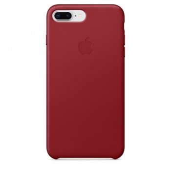 Apple iPhone 8 Plus/7 Plus Leather Case Red product