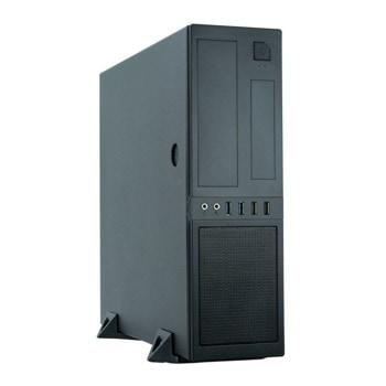 Кутия Chieftec Mesh Chassis CS-12B-300, mATX/Mini ITX, 2x USB 3.0, черна, с захранване 300W image