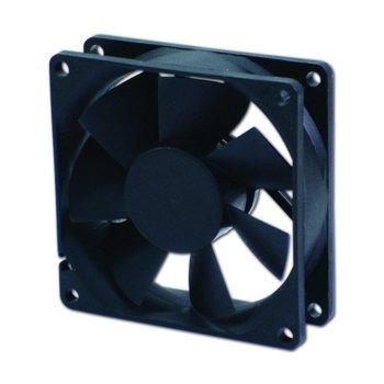 Вентилатор 80мм, EverCool EC8025L12EA, EL Bearing 2000rpm image