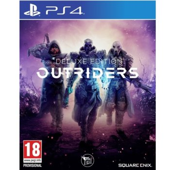 Игра за конзола Outriders - Deluxe Edition, за PS4 image