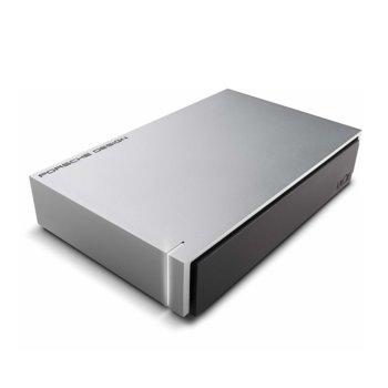 """Твърд диск 6TB Lacie Porsche Design (сребрист), външен, 3.5"""", USB 3.0 image"""
