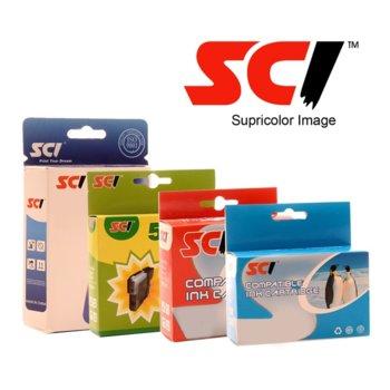 Мастило за HP OfficeJet 6950/6960/6970 - Cyan - SCI - Неоригинална image